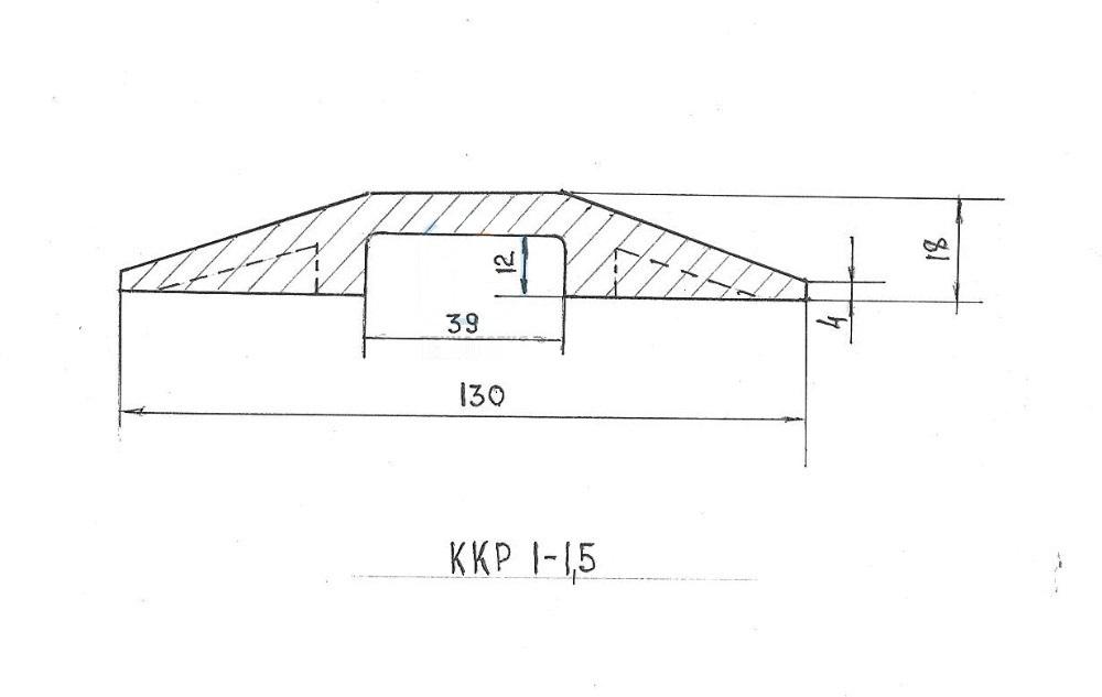 конструкция плсастикого кабель канала 1-1,5